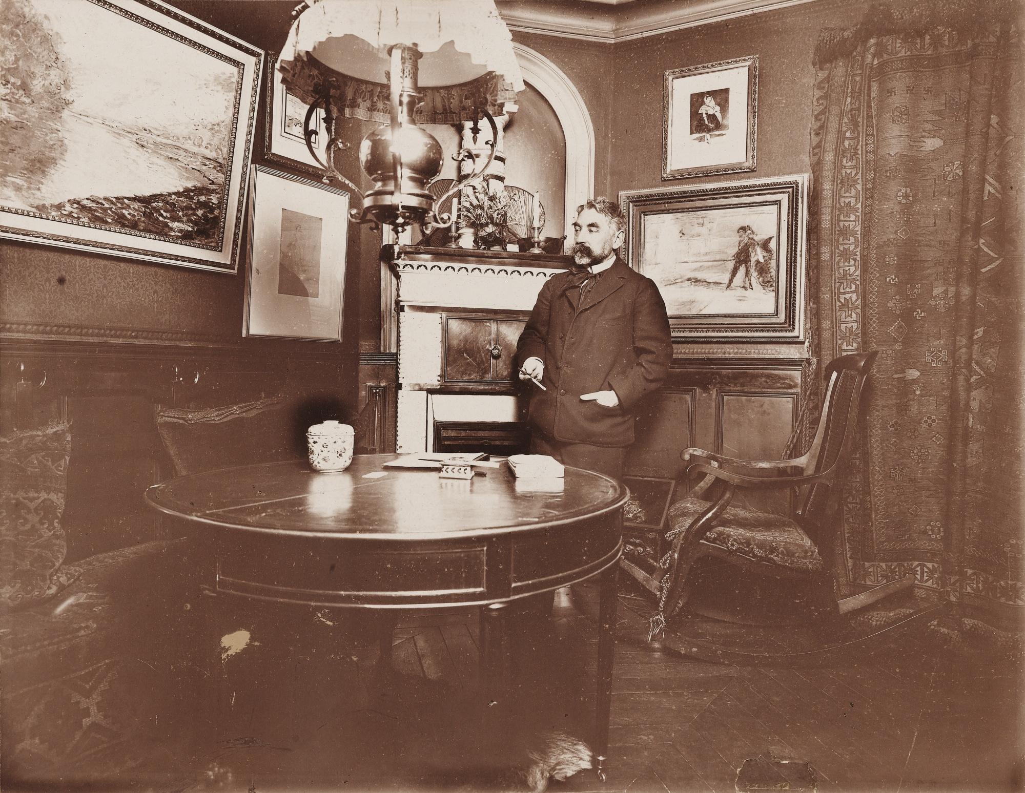 File:Stéphane Mallarmé - 89 Rue de Rome - Anonyme 1894-95.jpg - Wikimedia  Commons