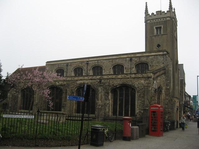 St Clement's Church, Cambridge - Wikipedia