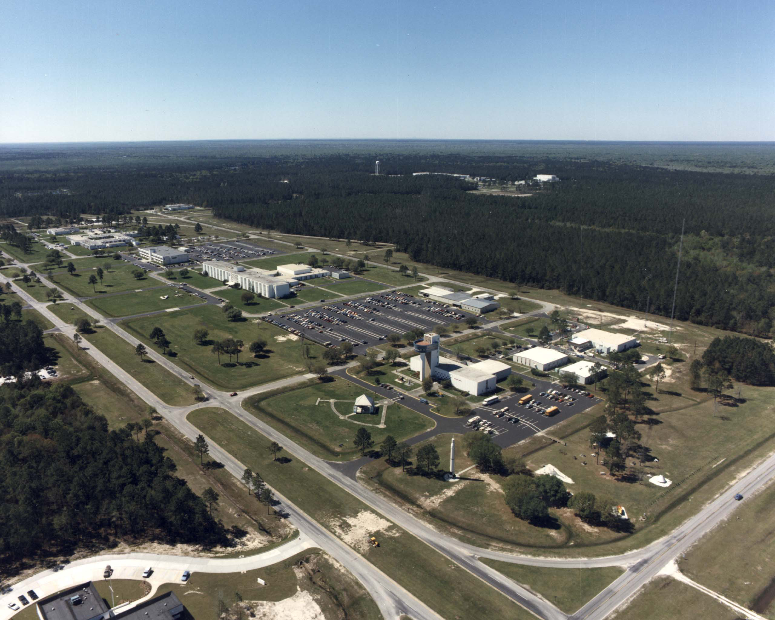 John C Stennis Space Center : File stennis visitors center and administrative complex