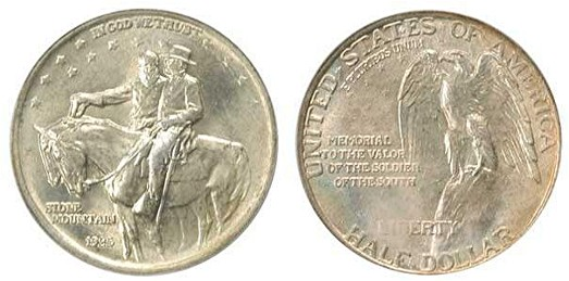 File:Stone mountain memorial half dollar commemorative obverse reverse.jpg