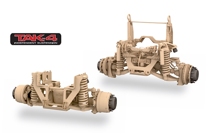 Oshkosh TAK-4 Independent Suspension System - Wikipedia