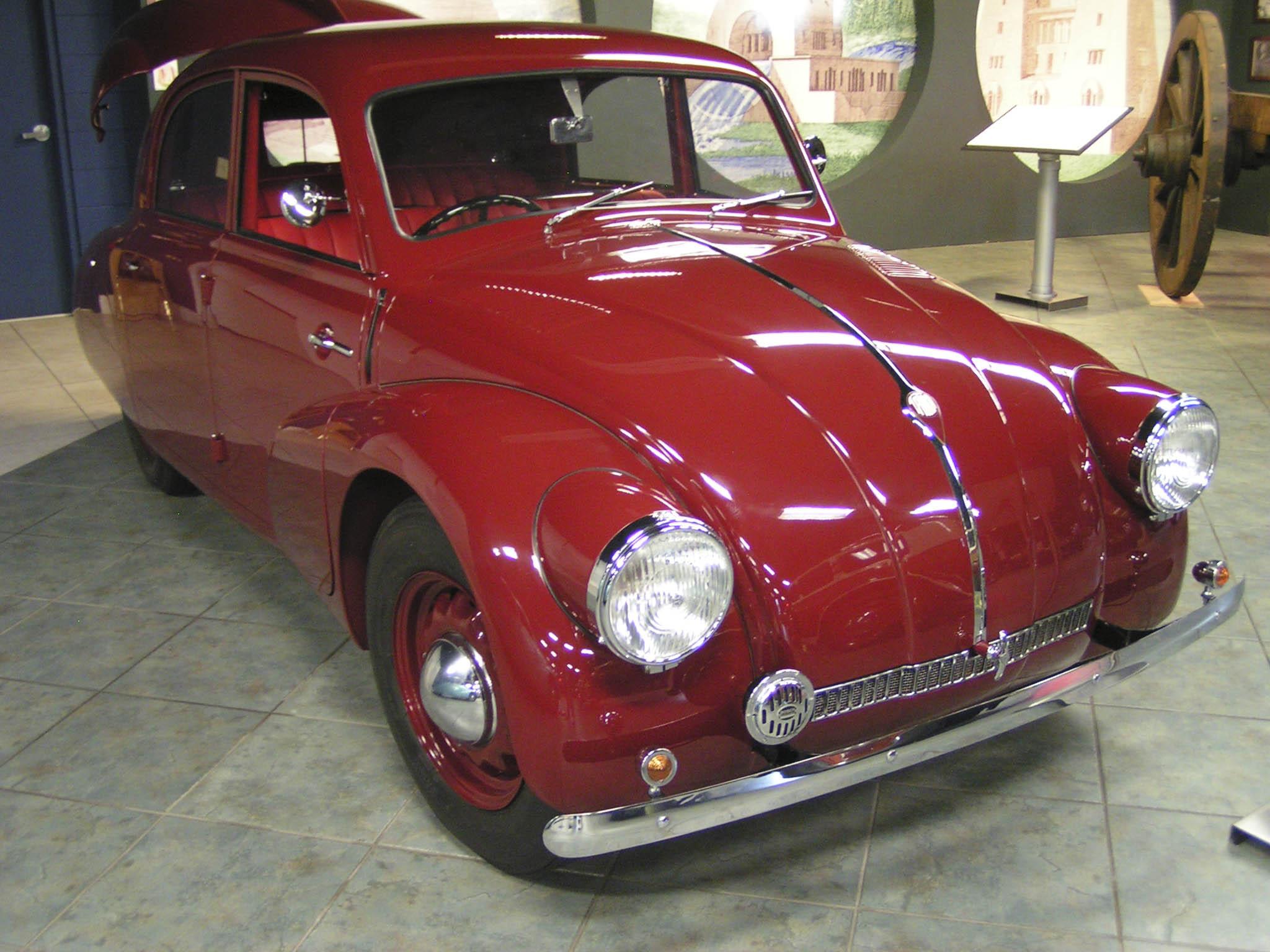 Motor und Design des Käfers basierten auf dem Tatra 97 …