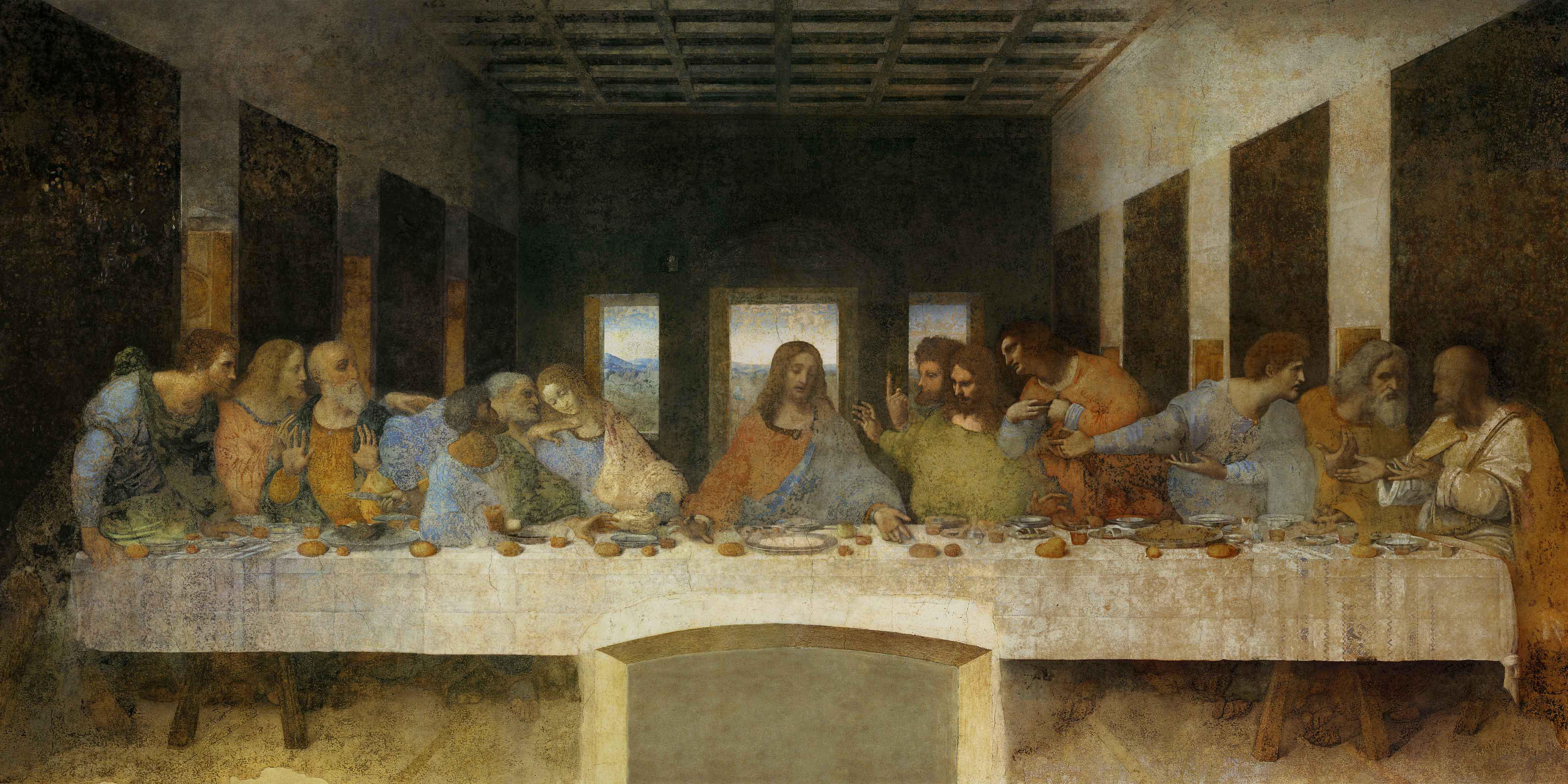 File:TheLastSupper.jpg - Wikimedia Commons Da Vinci Last Supper Original
