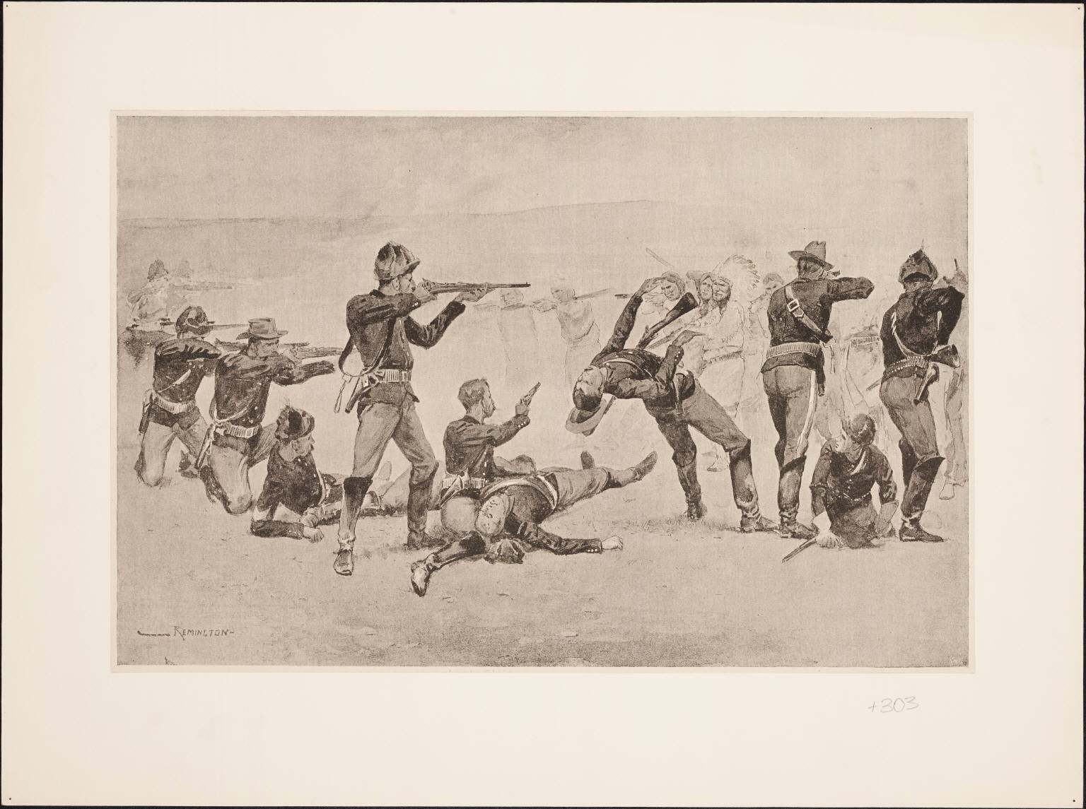 File The Opening Of The Fight At Wounded Knee By Frederic