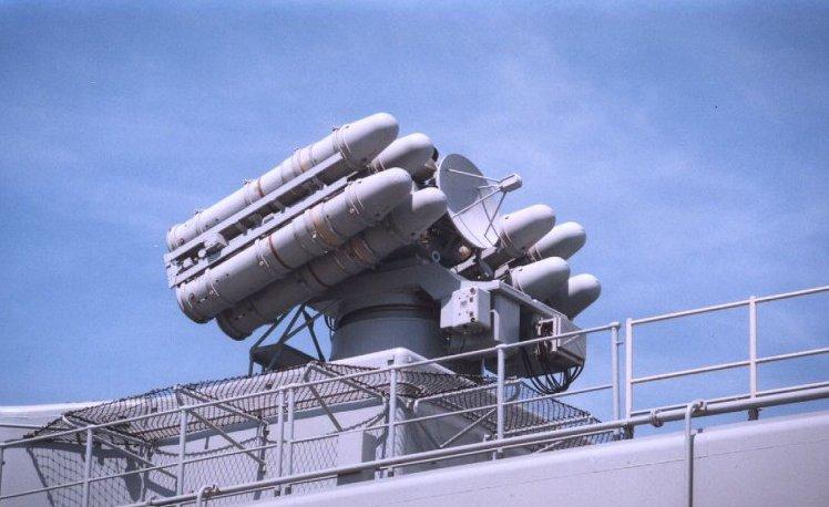 انظمة الدفاع الجوي البحرية Tourville-crotale