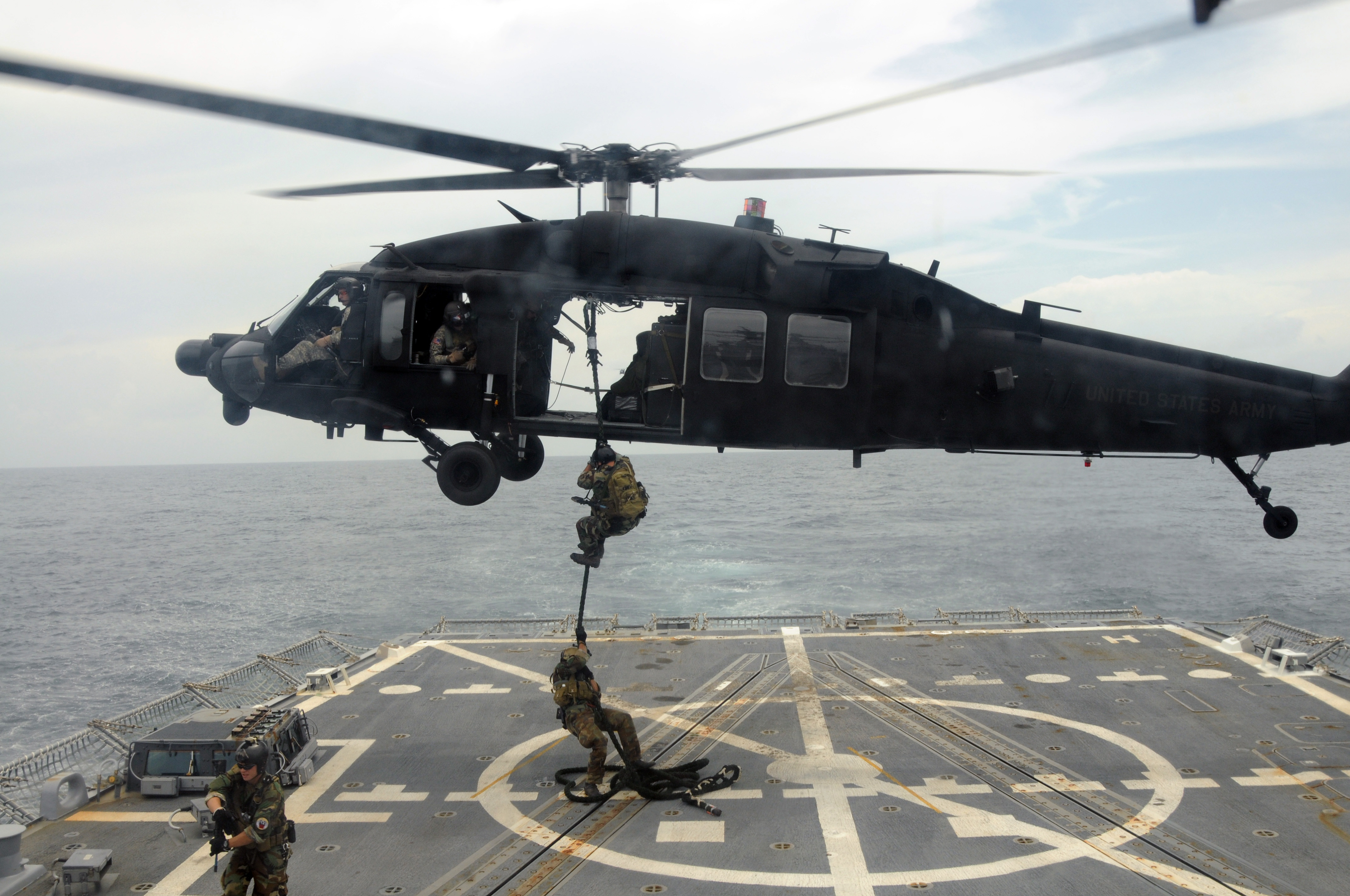 picture of blackhawk helicopter with File Us Navy 080814 N 6700f 005 U S  Army Helicopter Black Hawk Hovers Above The Guided Missile Destroyer Uss Farragut  Ddg 99 on Ah 1 Cobra moreover Sikorsky Signs 74 116 Bn Contract With Us Military 04431 furthermore 09052014 Sas Land Rovers also Crew Chief 172253669 as well 6590868017.
