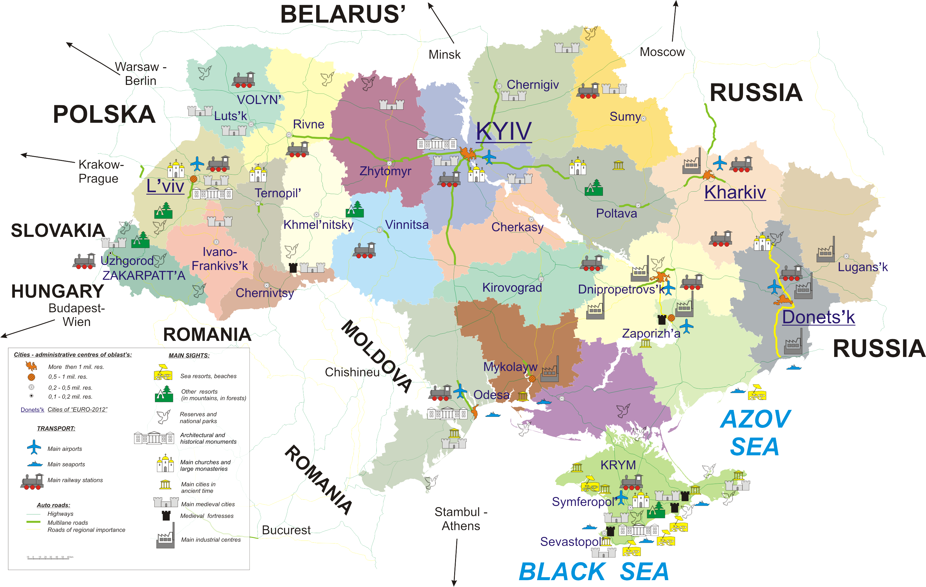 Major Natural Resources In Russia