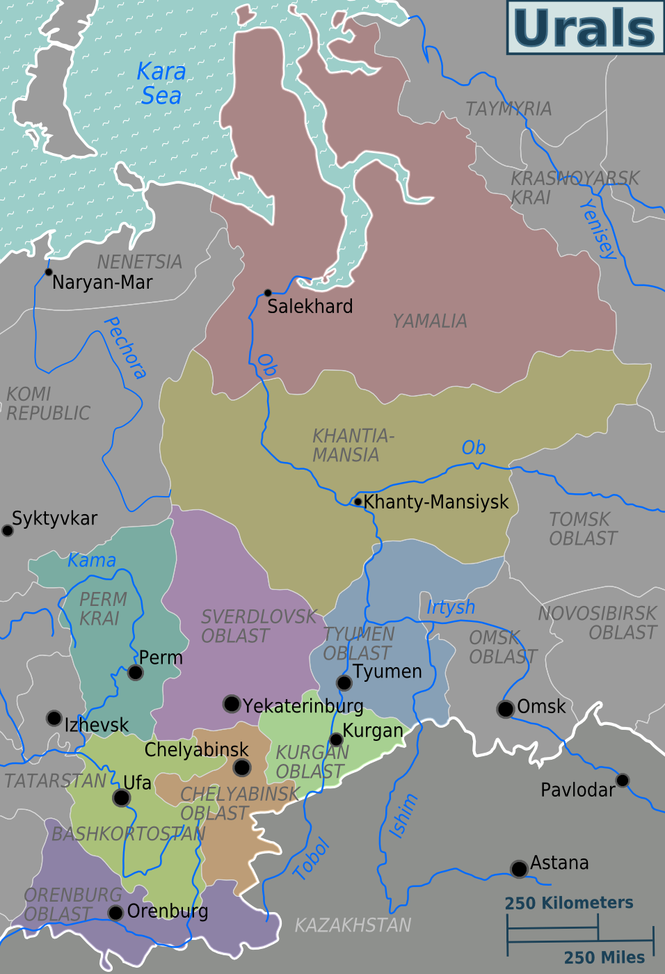 urals – travel guide at wikivoyage -