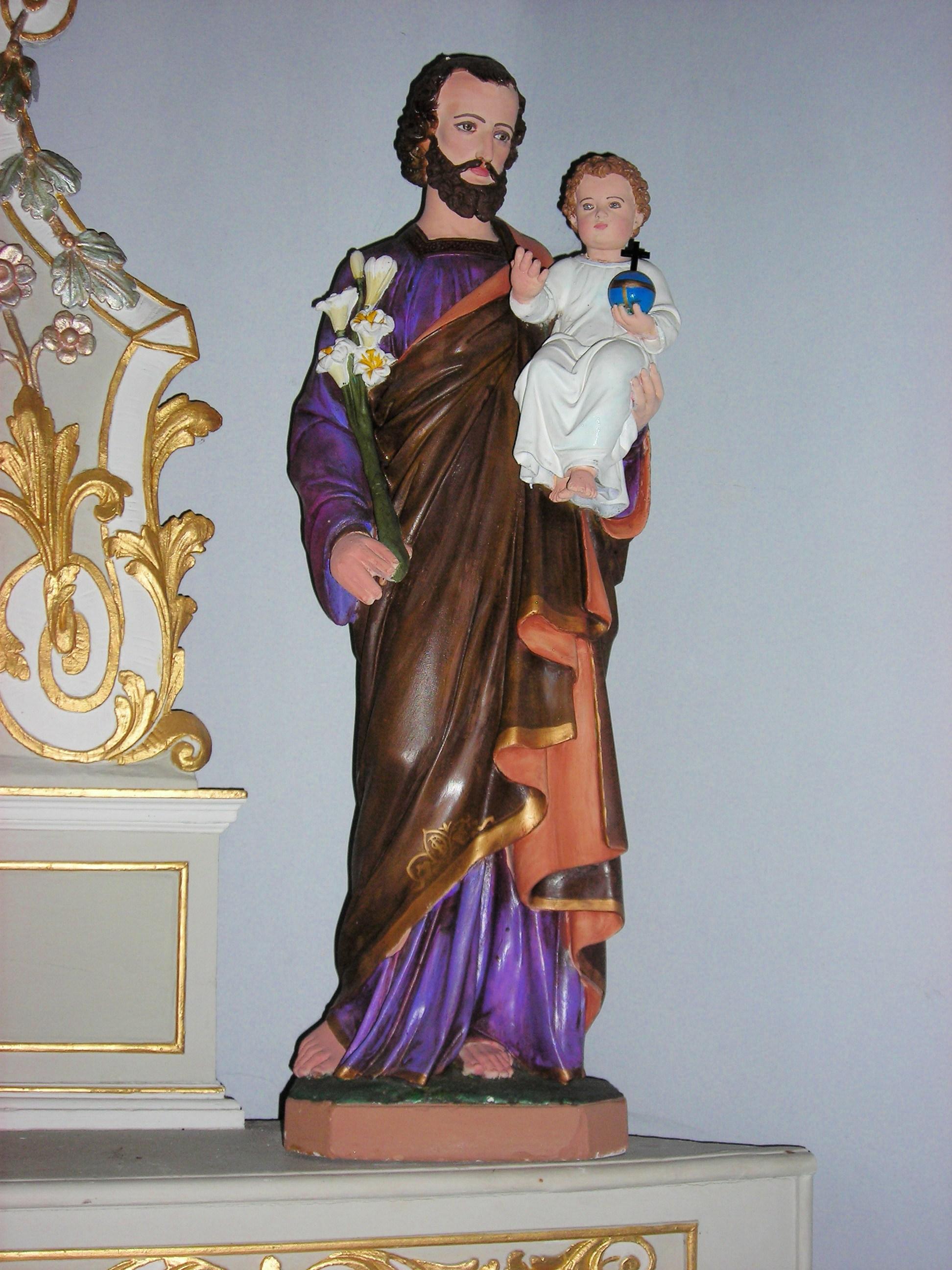 File Varsberg Chapelle Statue St Joseph Jpg Wikimedia
