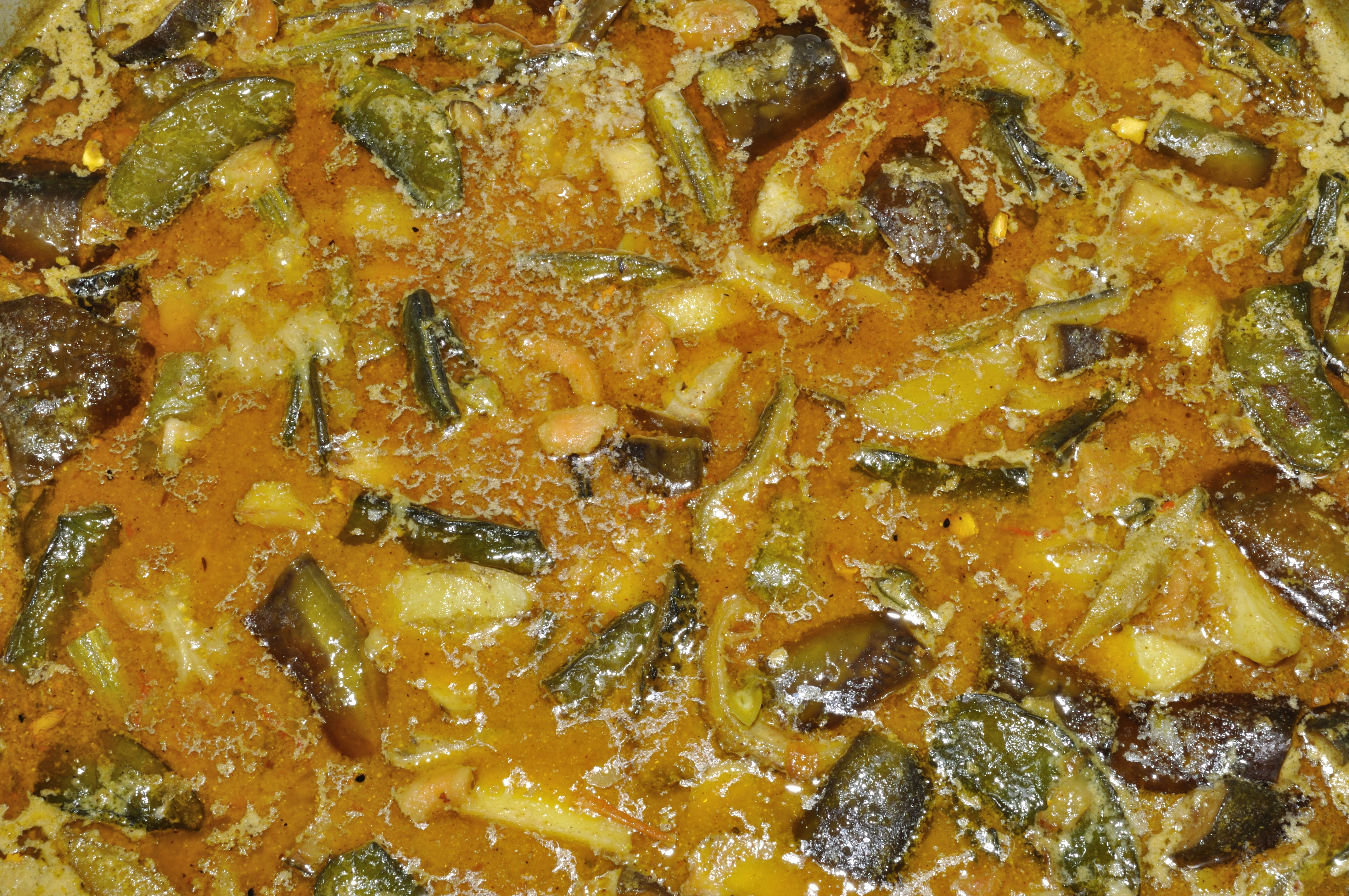 Traditional Indian Vegetable Curry