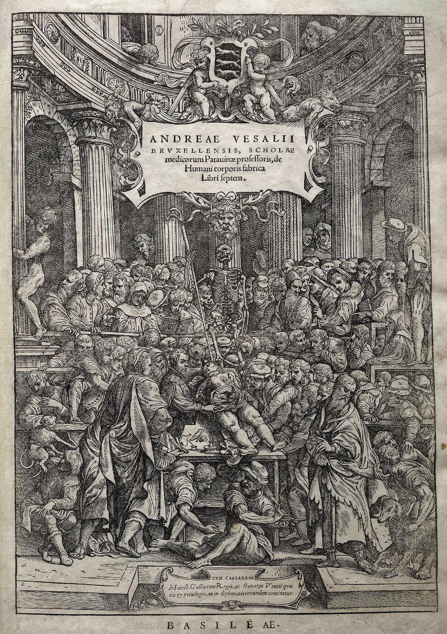 vesalius frontispiece