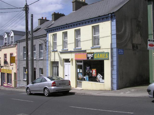 Video Games, Carndonagh - geograph.org.uk - 1381451.jpg