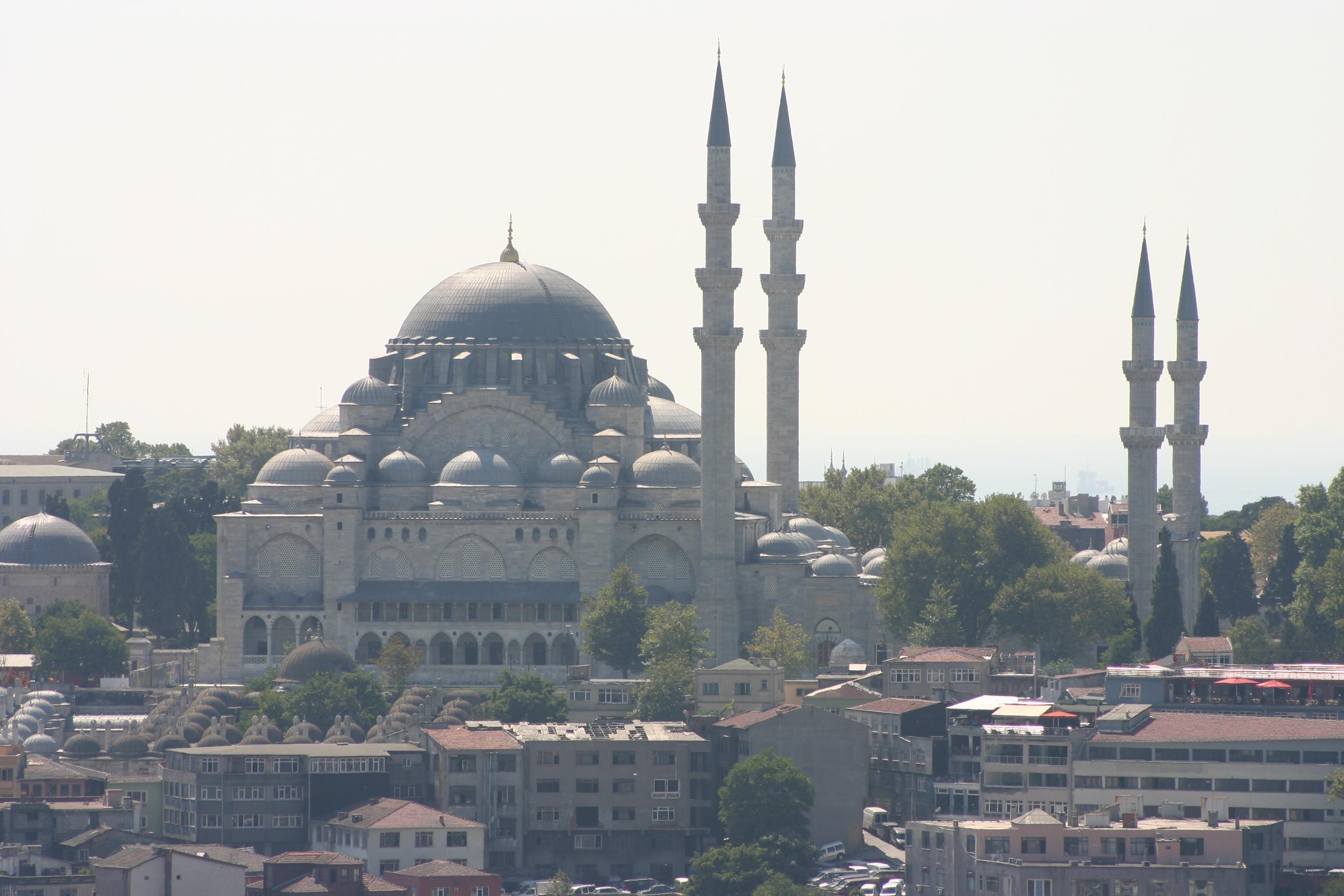 View of Süleymaniye Mosque from the Galata Tower.jpg