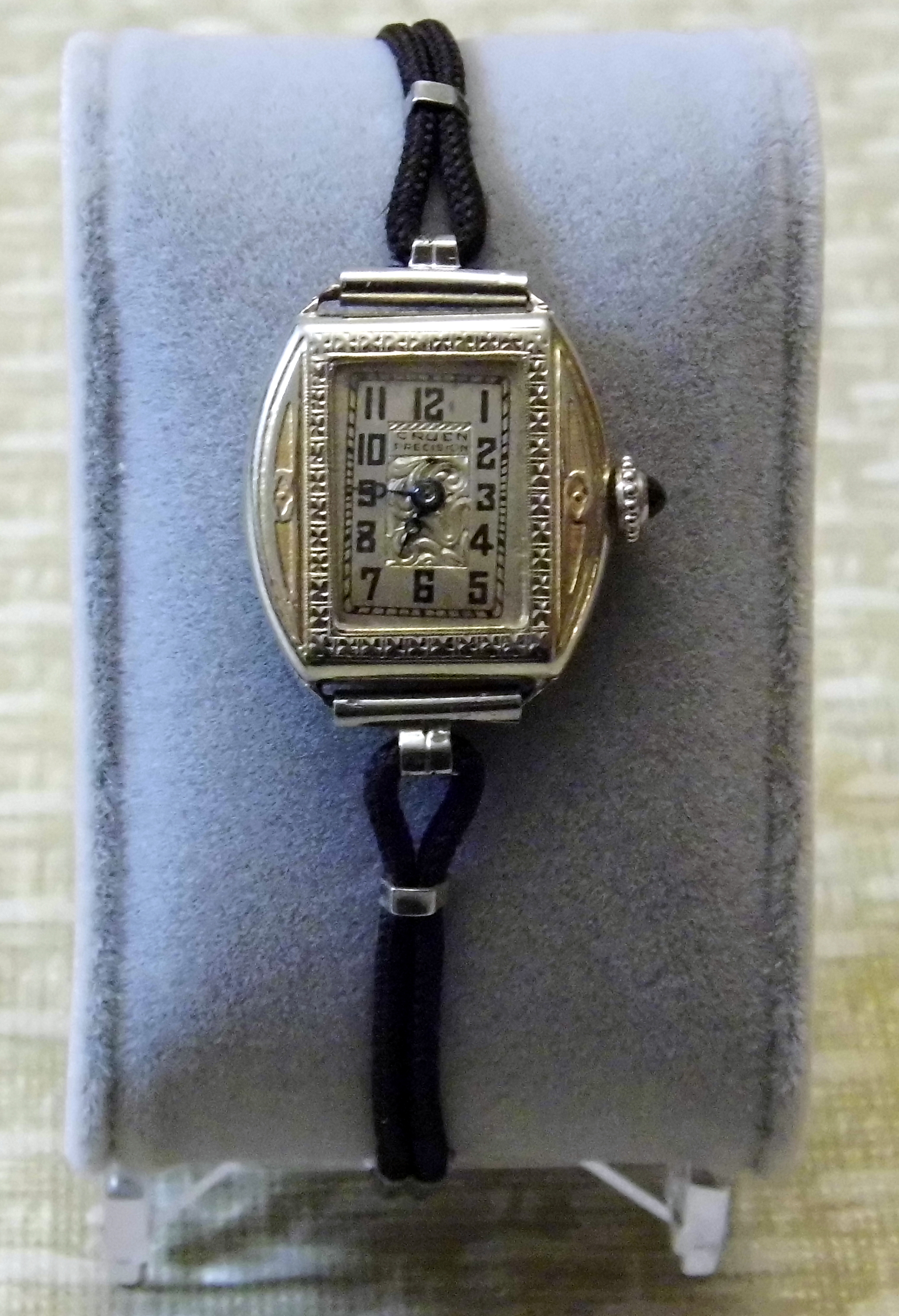 file vintage gruen precision women 39 s manual wind watch. Black Bedroom Furniture Sets. Home Design Ideas
