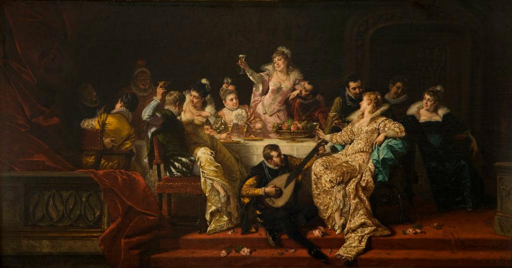 Renaissance banquet