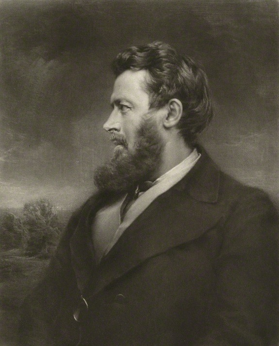 Portrait by Norman Hirst,<br/> after an unknown artist