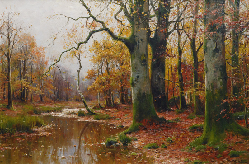 File:Walter Moras Bachlauf im Herbstwald.jpgFamous Forest Paintings
