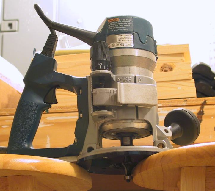 wood work router
