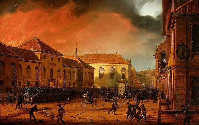 Insurrection en Pologne! (novembre 1830) Zaleski_Capture_of_the_Arsenal_in_Warsaw