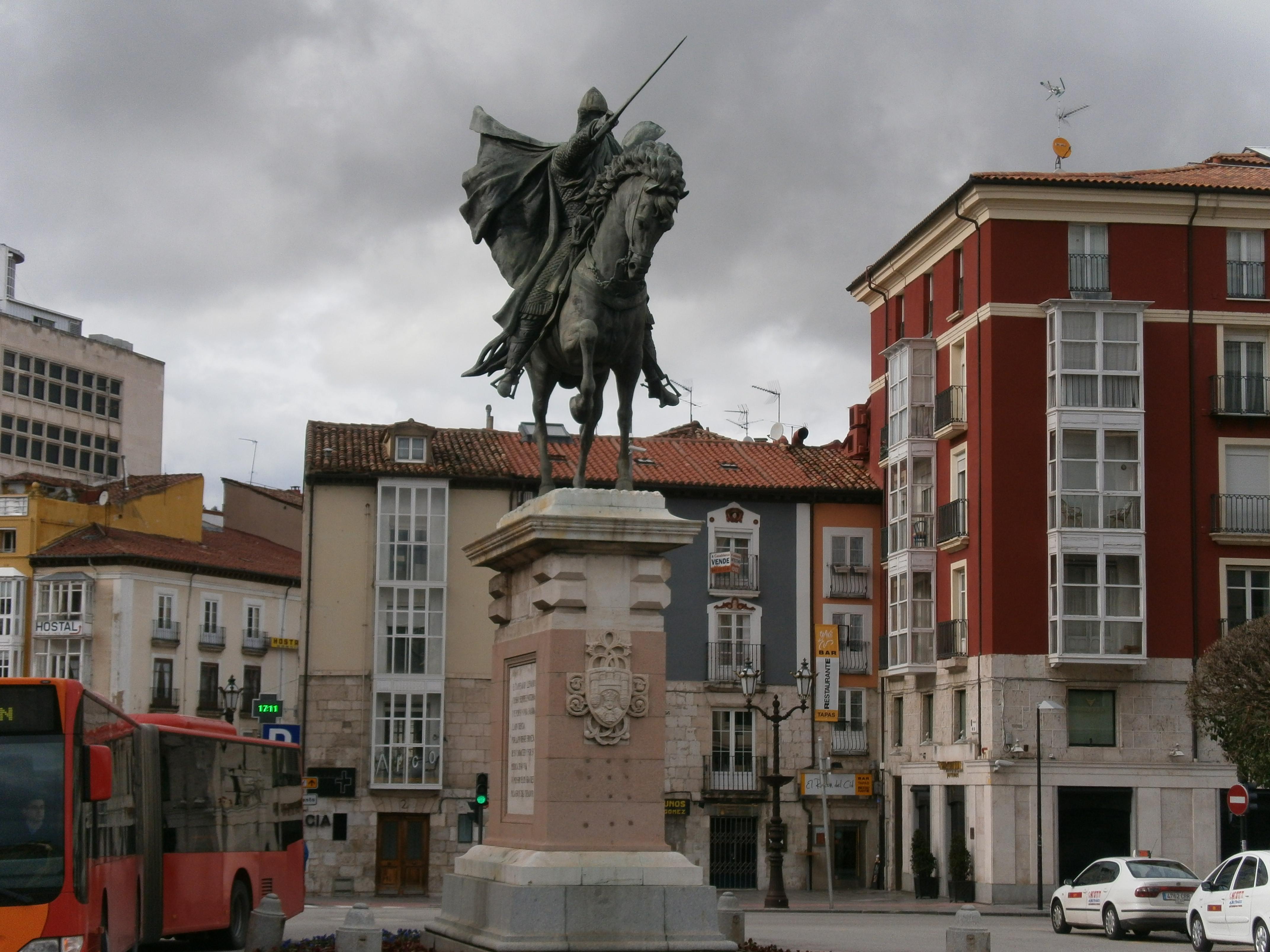 File:Zeinahi erasorako prest doa El Cid Campeador, bere