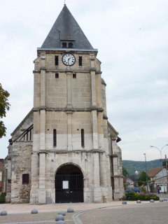 Image illustrative de l'article Attentat de l'église de Saint-Étienne-du-Rouvray
