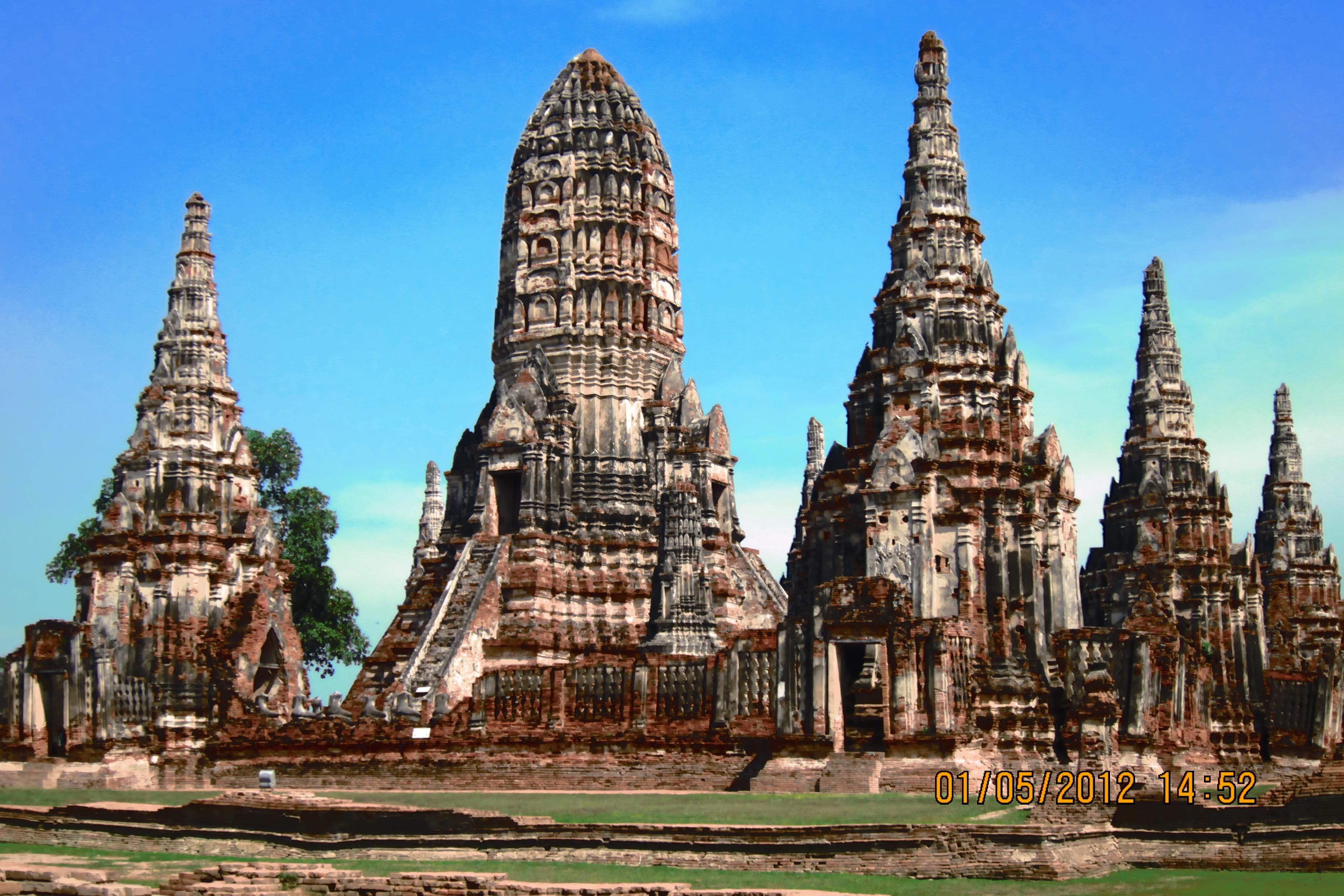 ไฟล์:ไชยวัฒนาราม โบราณสถานเมืองไทย.JPG