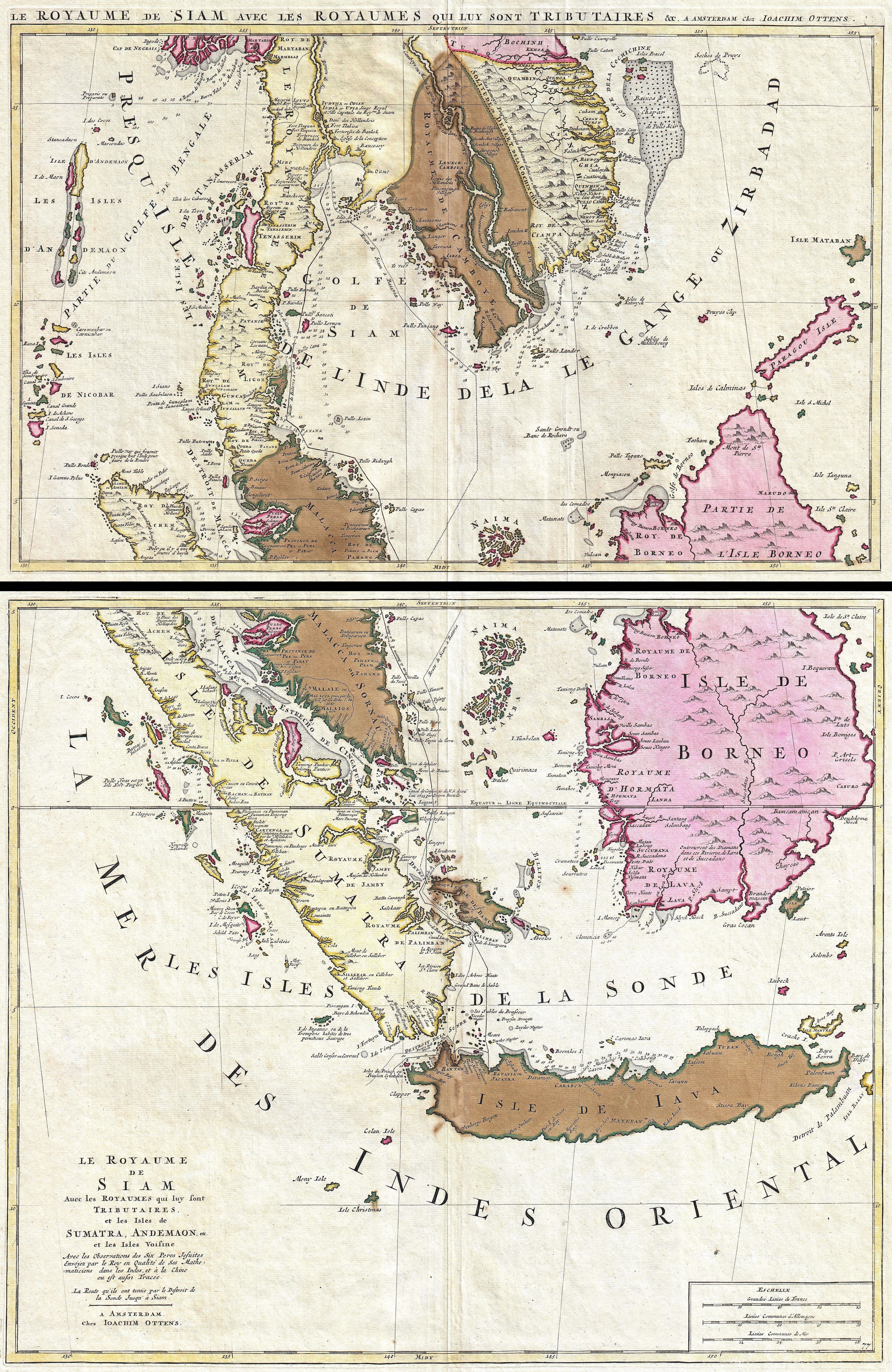 Asia Map Singapore.File 1710 Ottens Map Of Southeast Asia Singapore Thailand Siam