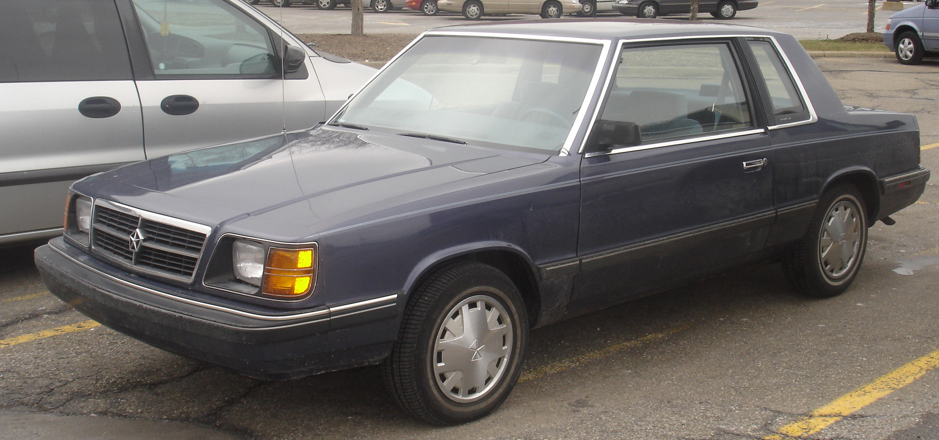 File 1989 Dodge Aries K Coupe Jpg Wikimedia Commons