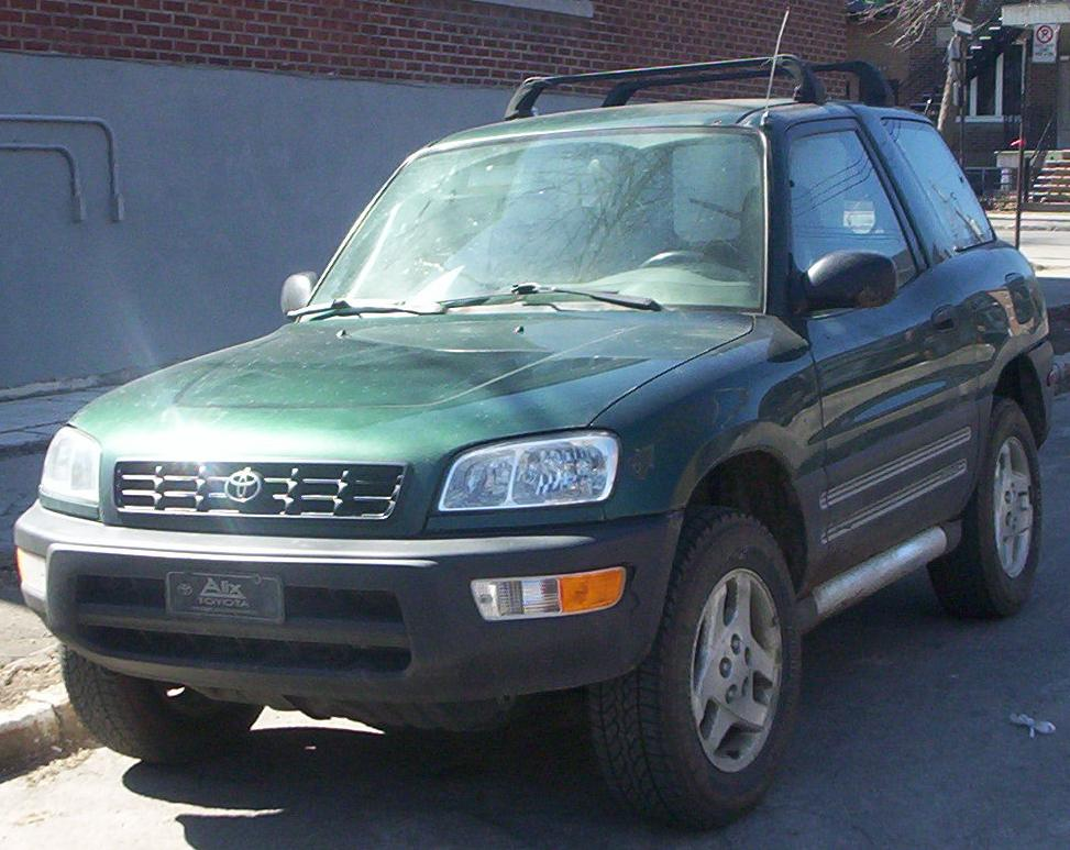 & 1998 Toyota RAV4 4-Door Automatic 4WD