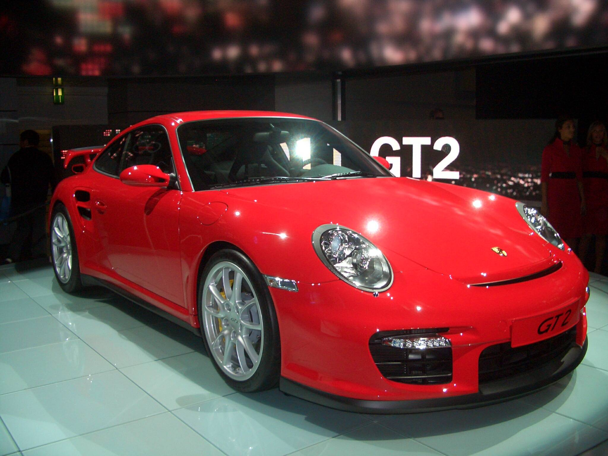 2007_Porsche_997_GT2_IAA_Frankfurt Interesting Porsche 911 Gt2 and Gt3 Cars Trend