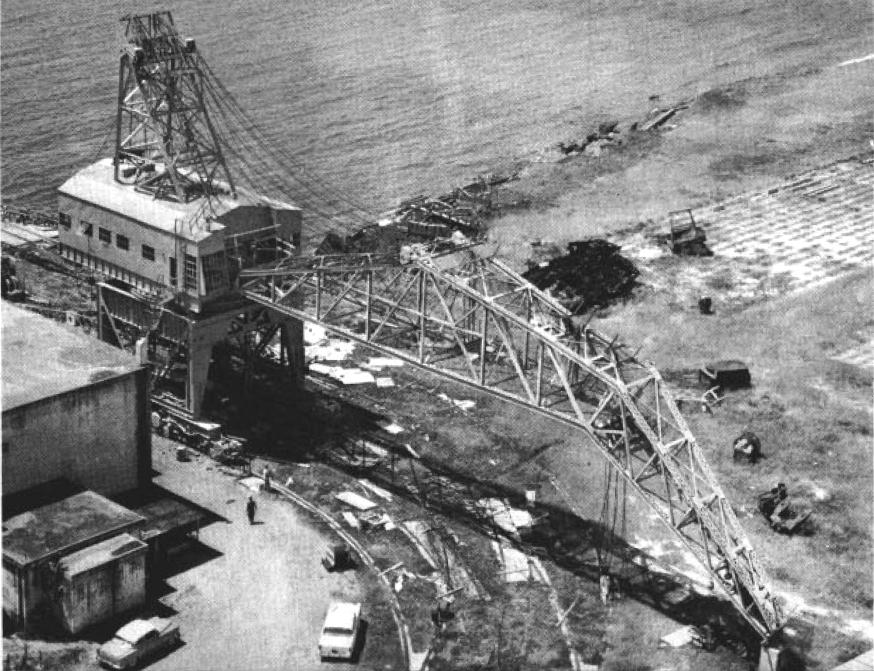 file50tcapacity crane at naval station roosevelt roads