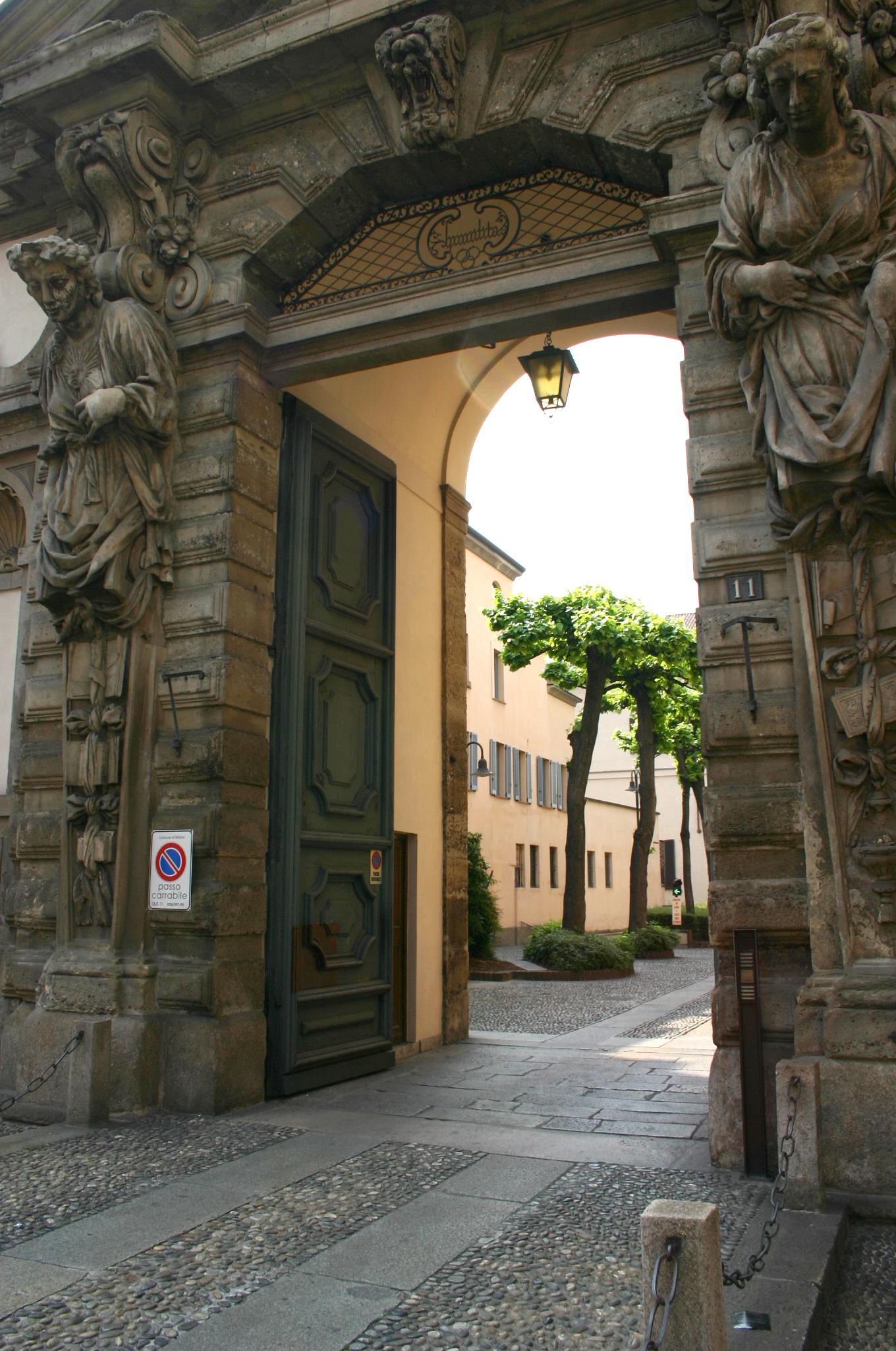 file milano corso venezia portale del seminario with milano corso venezia