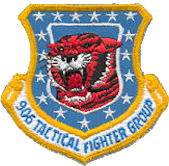 Image result for 906th Tactical Fighter Group emblem