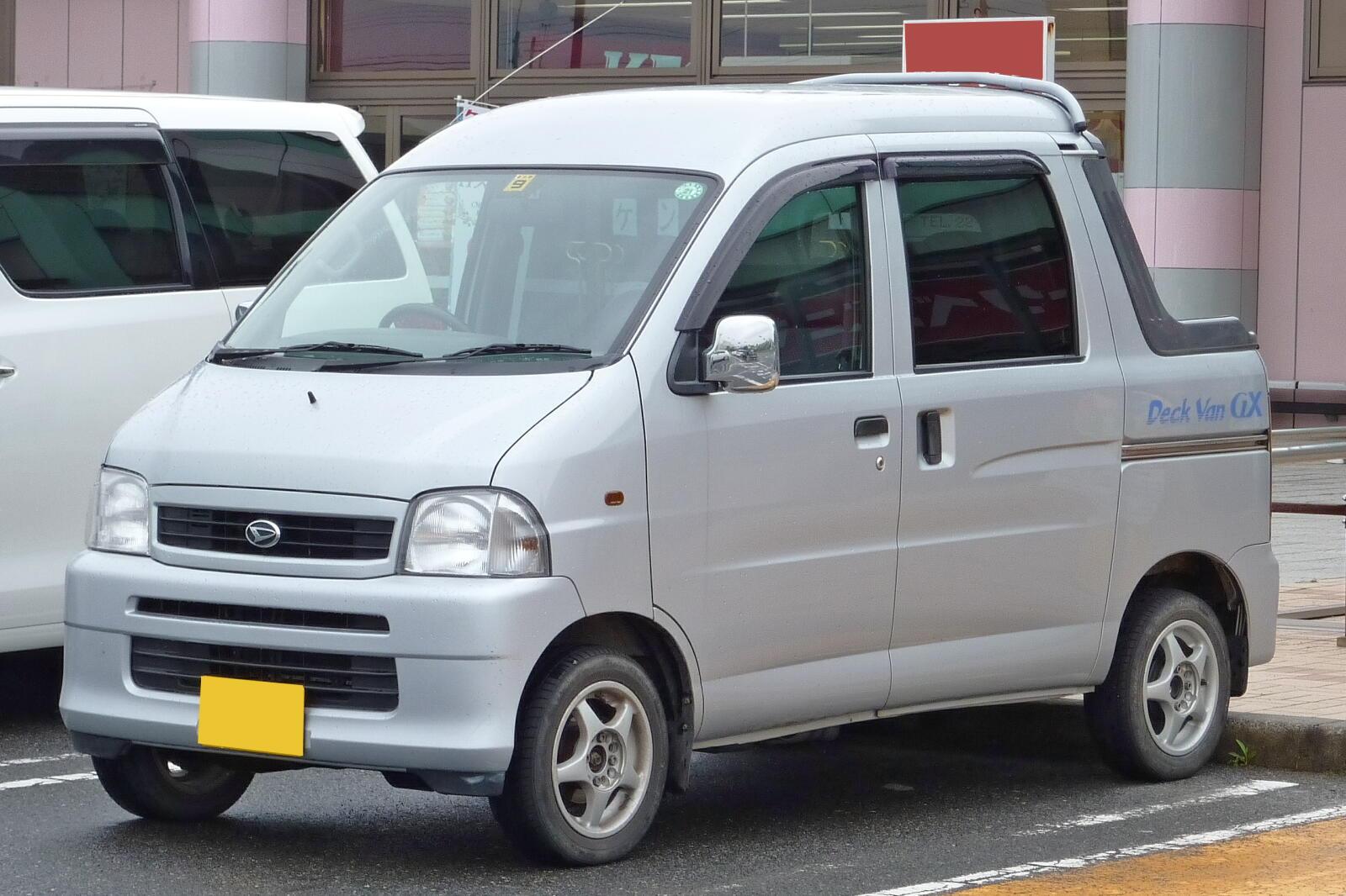 Toyota Hijet Deck Van