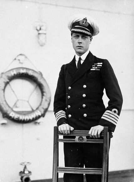 Edward VIII in regimental uniform in 1919