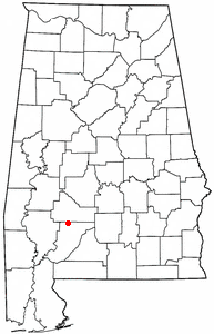 Loko di Vredenburgh, Alabama