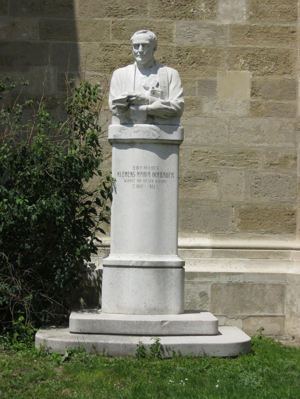 AT-20938 Clemens Maria Hofbauer- Denkmal Minoritenplatz.JPG