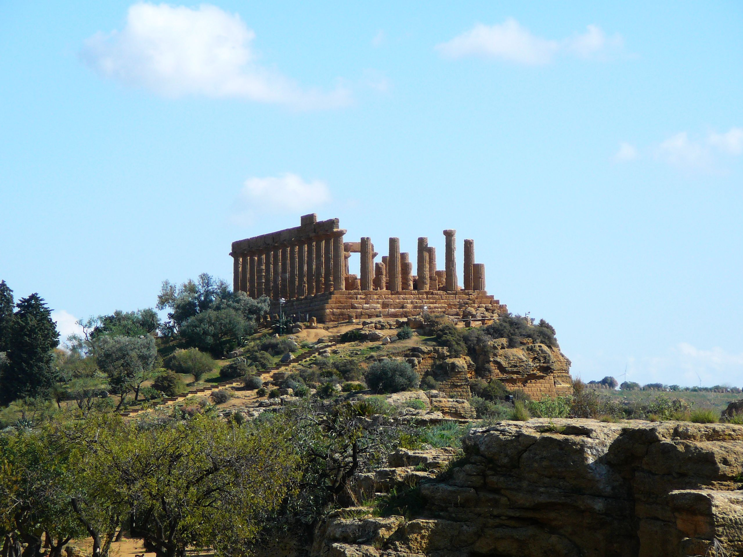 Agrigento Italy  city photos : Agrigento, Italy. Temple of Hera 01 Wikipedia, the free ...