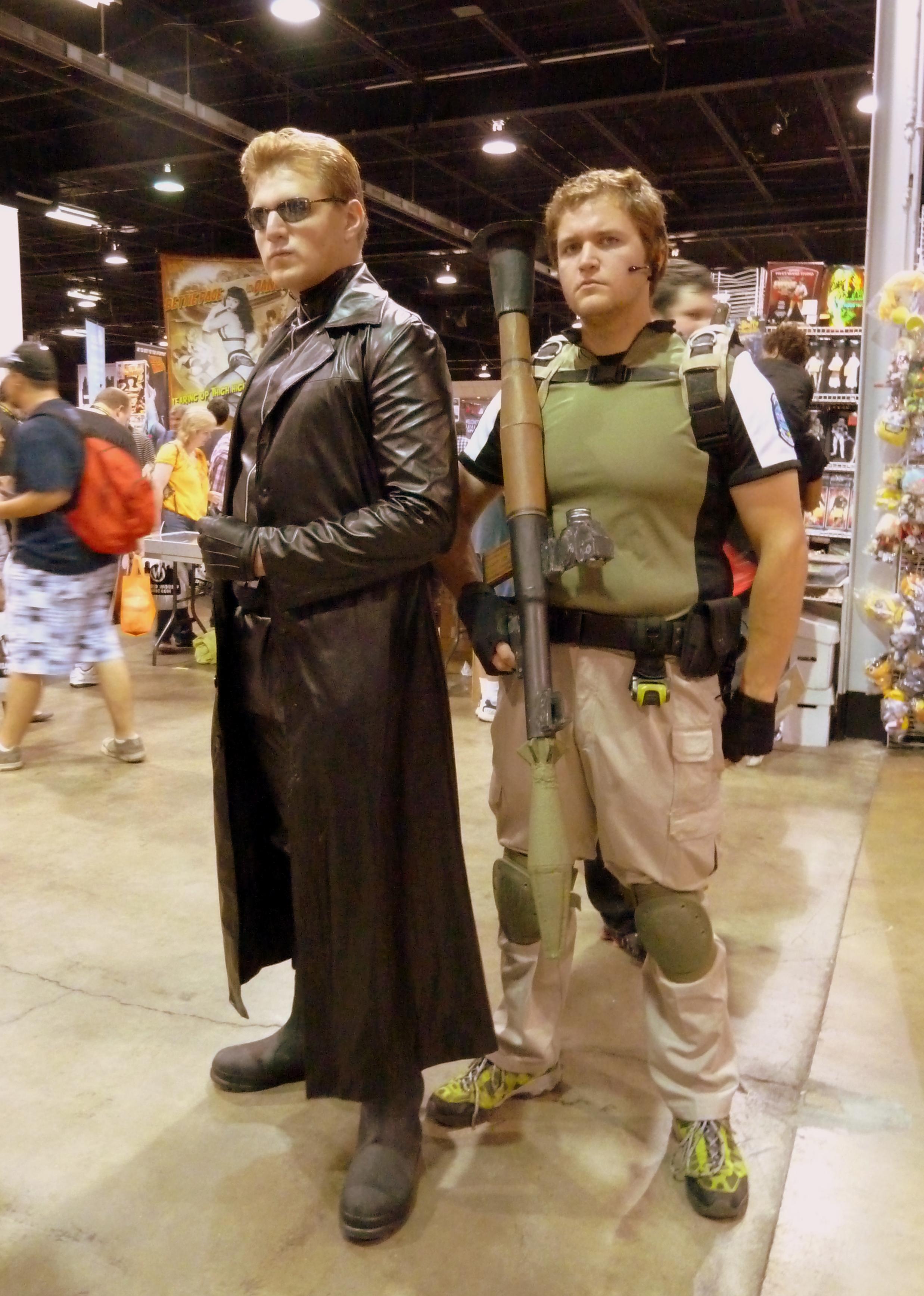 File Albert Wesker And Chris Redfield From Resident Evil 5 Jpg