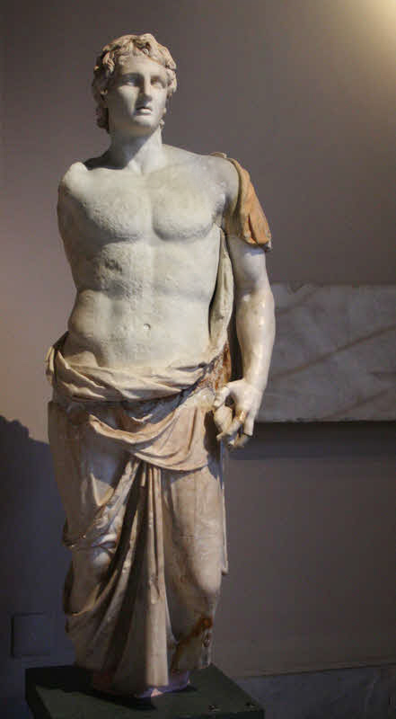 Statue of Alexander in Istanbul Archaeology Museum.