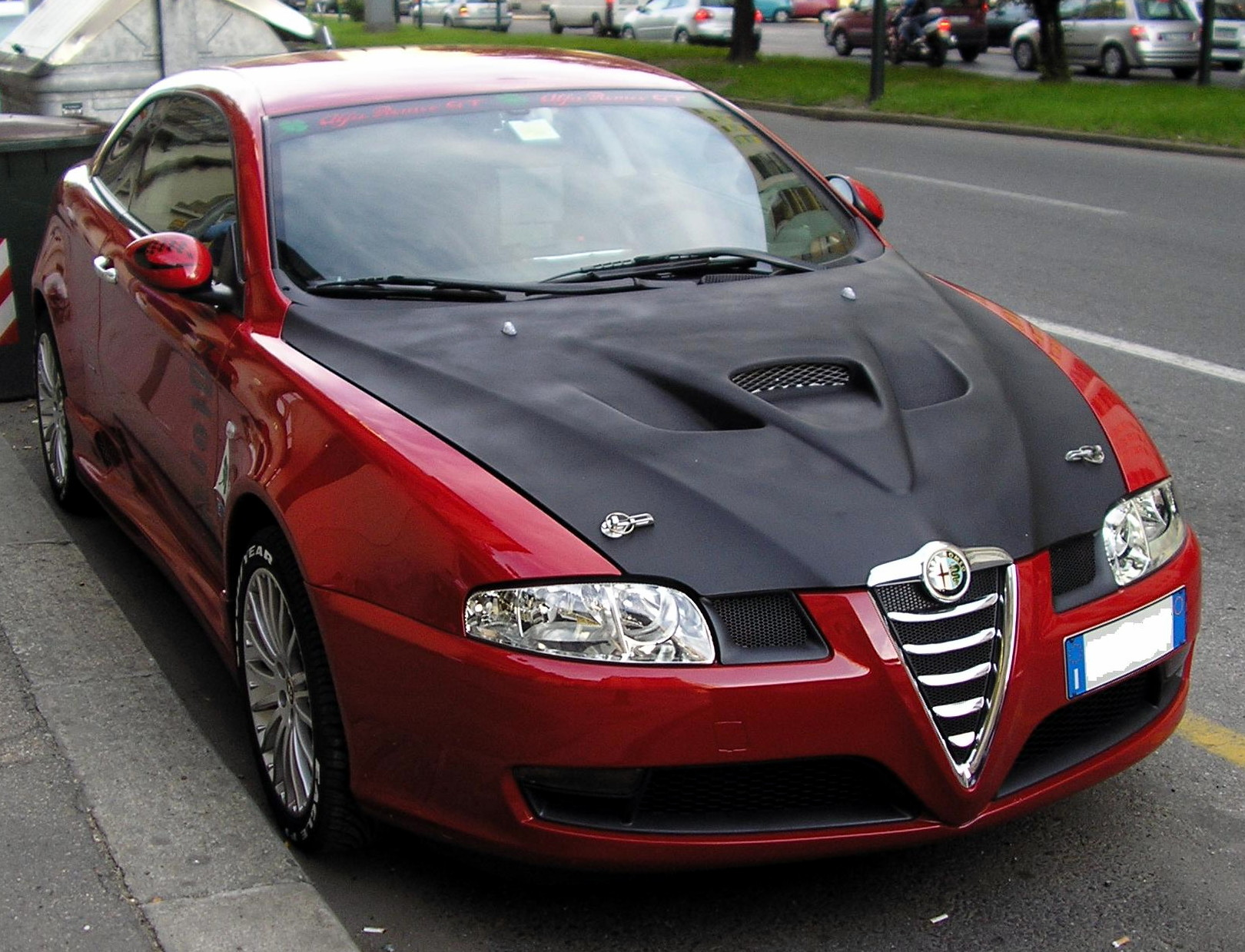 Alfa Romeo GT Fresh Face Pictures