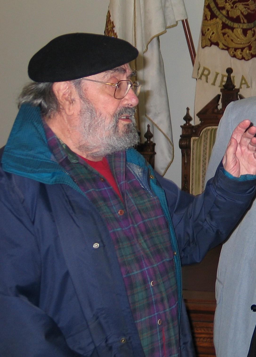 Alfonso Sastre en 2008.