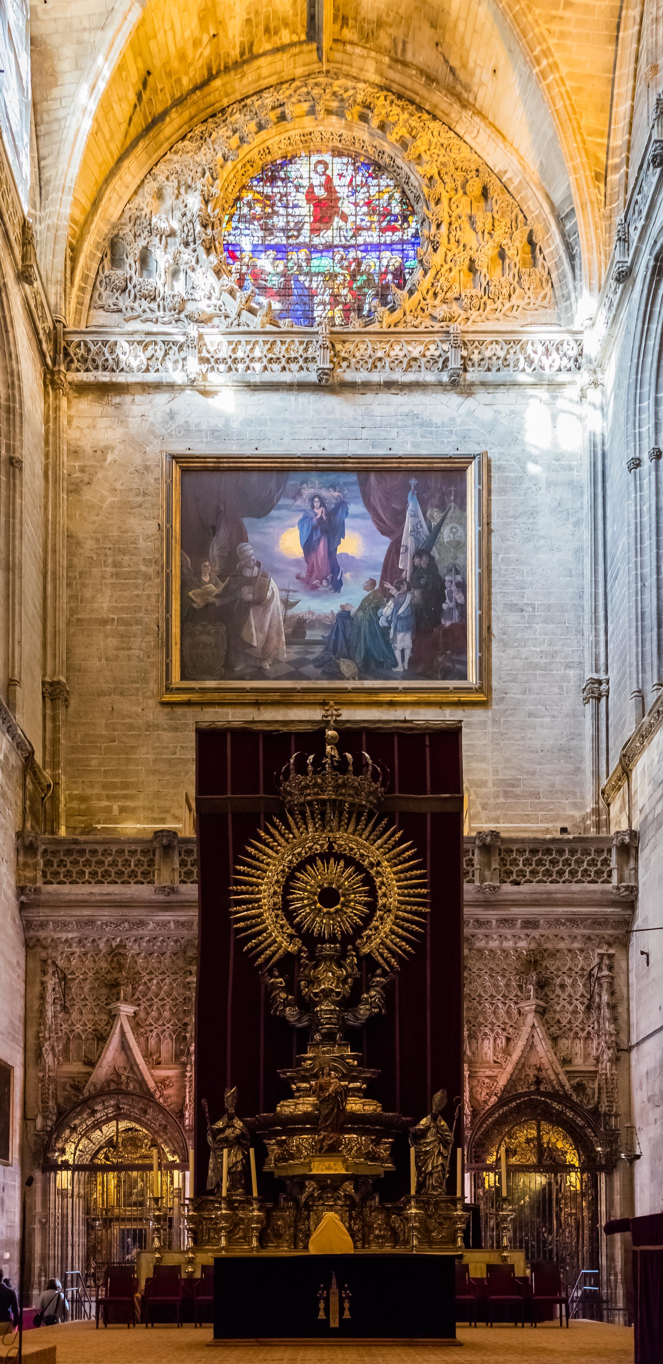 Archivo altar de plata catedral de sevilla sevilla for La fabrica del mueble sevilla