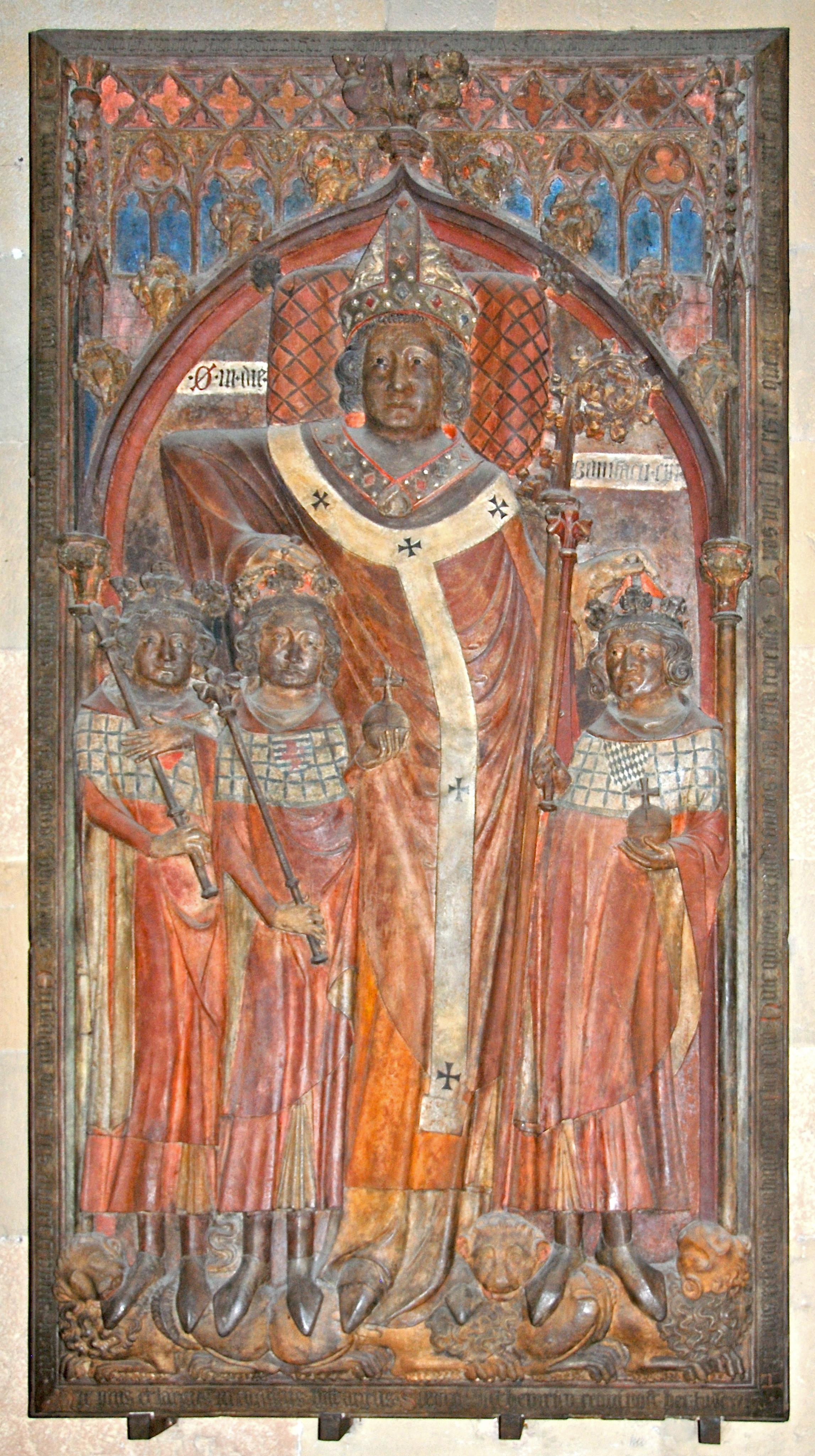 Grabdenkmal Peter von Aspelts im Mainzer Dom