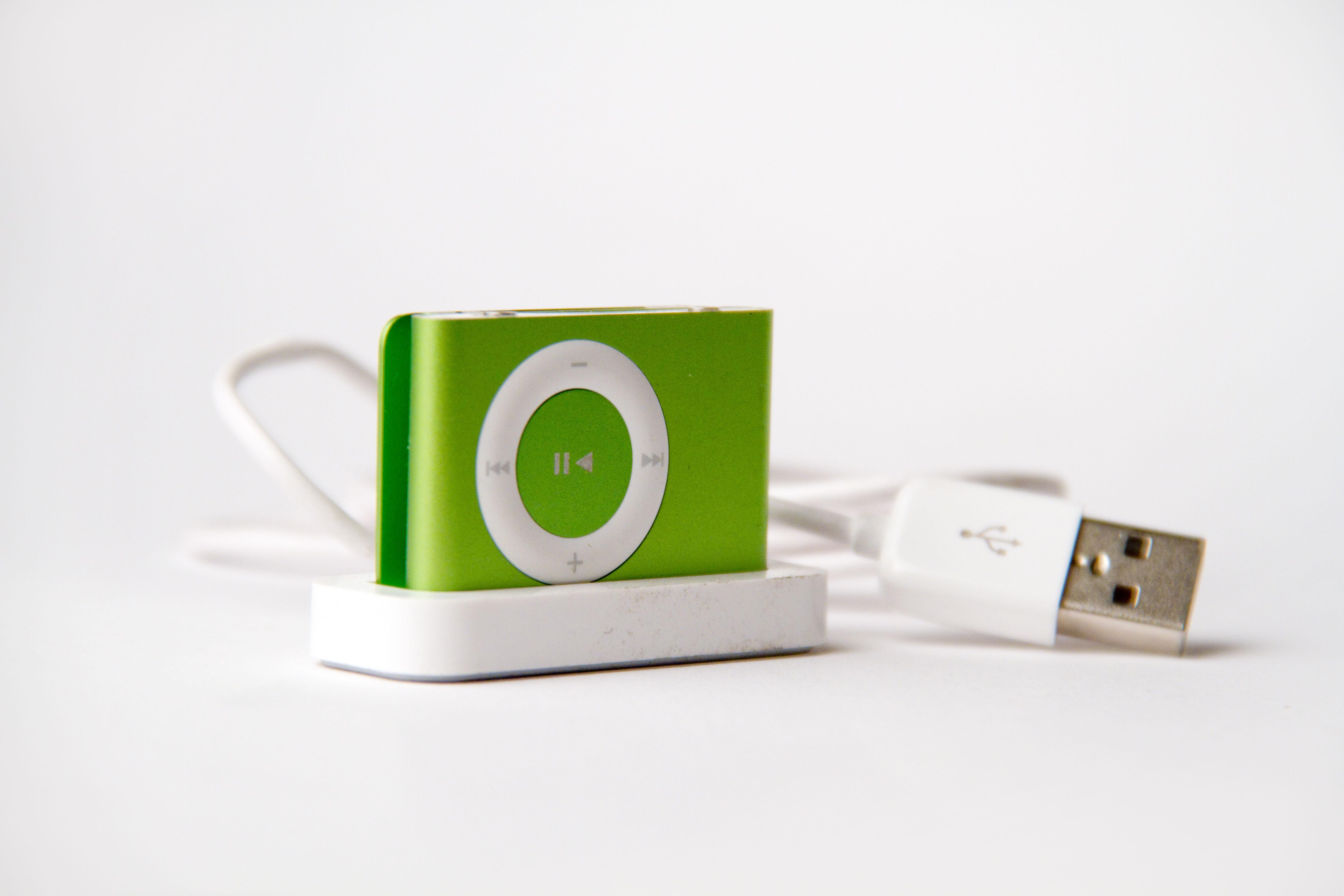 File Apple Ipod Shuffle Second Generation Green Jpg
