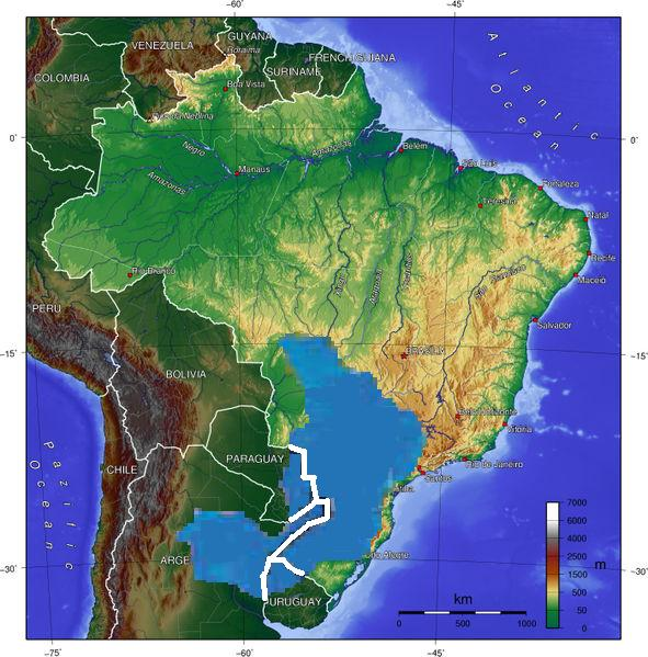 acuifero guaraní