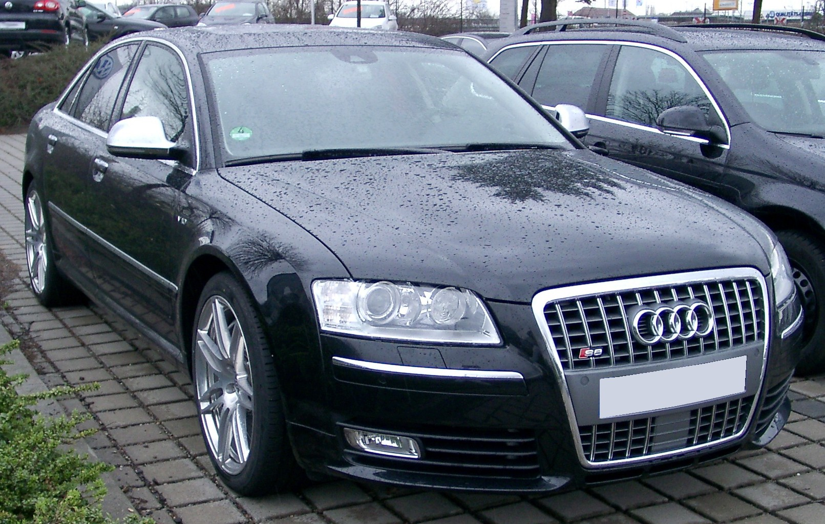 File Audi S8 Front 20080303 Jpg Wikimedia Commons