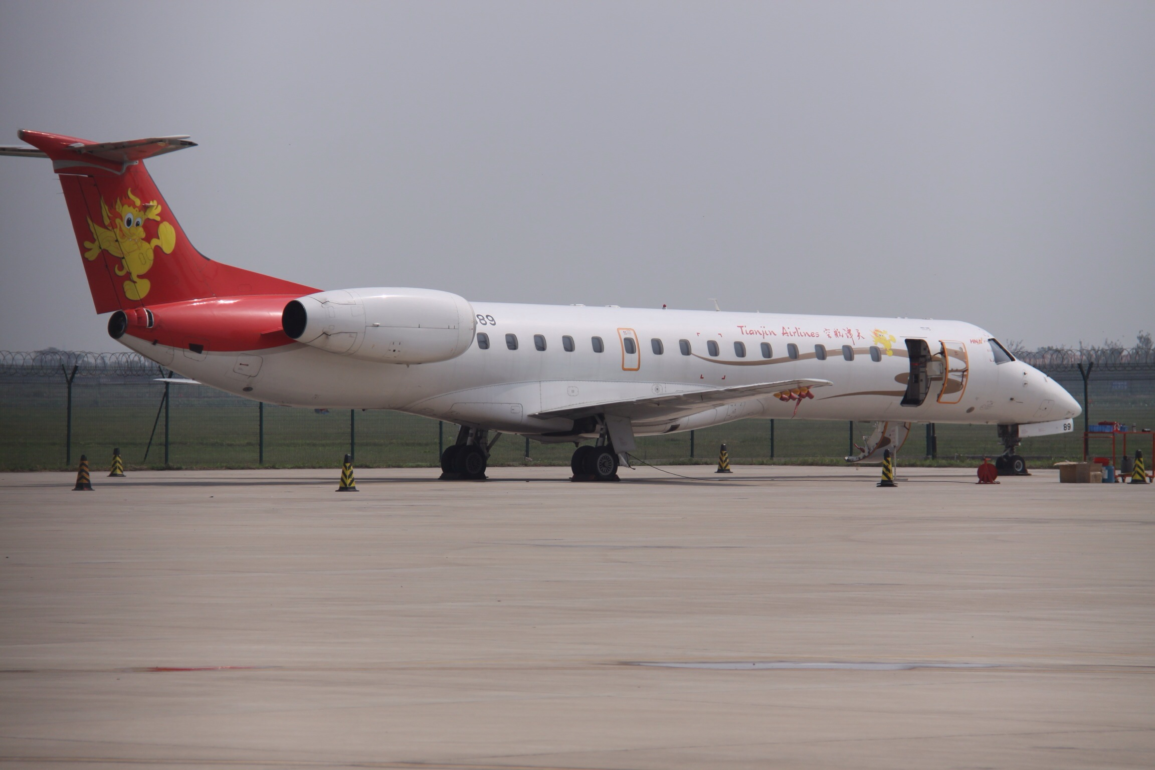File b 3089 embraer erj 145 tianjin airlines 11565255793 jpg
