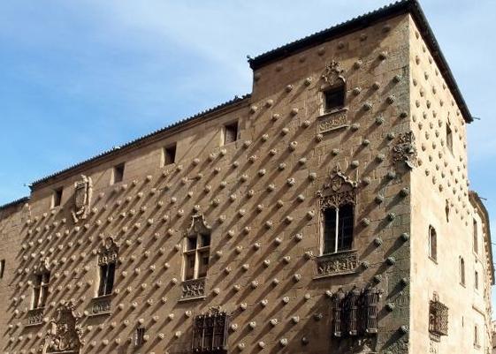 Casa de las Conchas (Salamanca) - Wikipedia, la enciclopedia libre