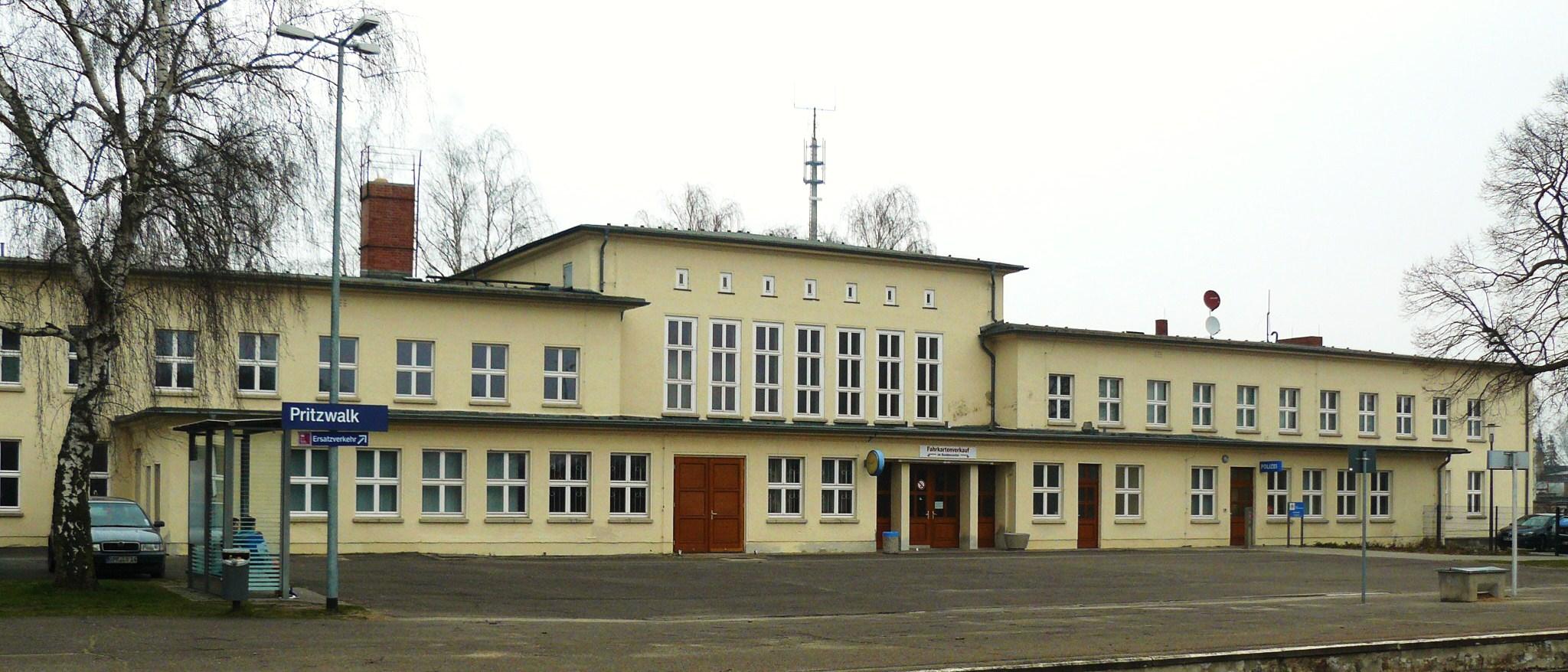 pritzwalk bahnhof